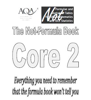 C2 Not Formula Book